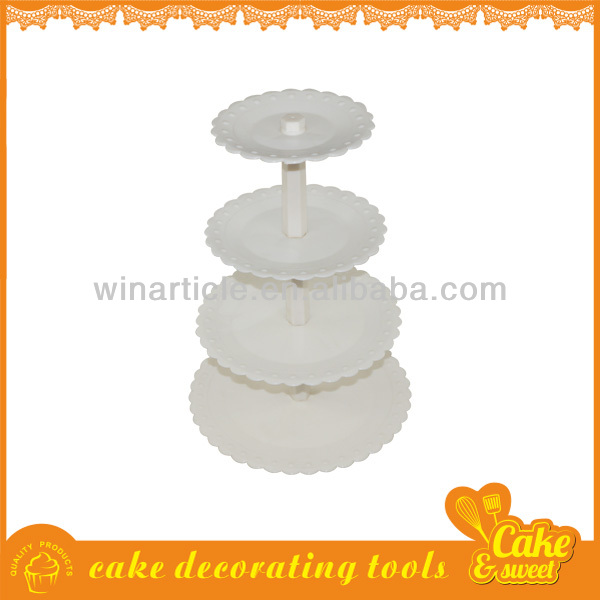 4 tier wedding cake stand plastic cupcake stand
