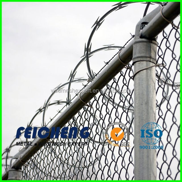 made in china concertina hot dipped razor wire fence