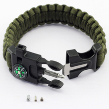 new style paracord bracelet with logo custome on selling in alibaba supplier
