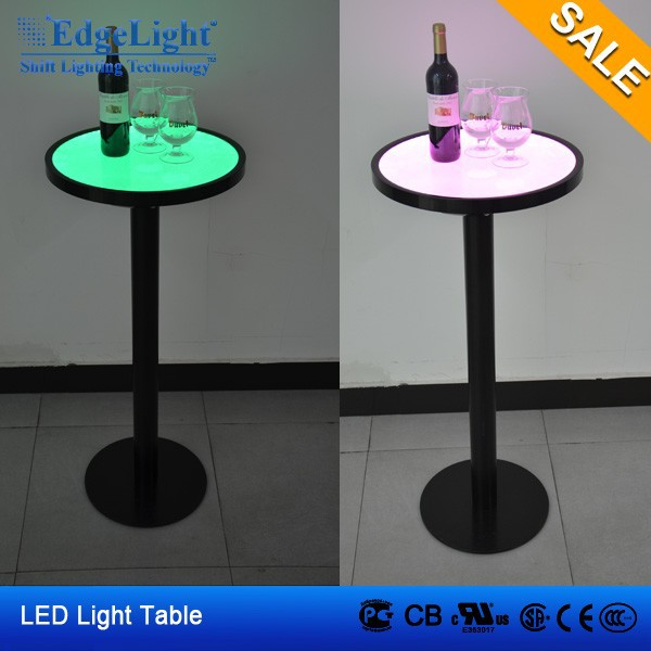 CE UL ROHS LED light bar table acrylic led bar table