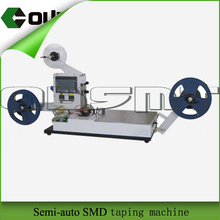 semi-automatic smd taping machine