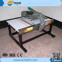 Factory Price F450 Manual Fabric Cutter Textile Cutting Machine