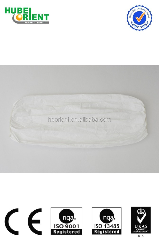 High Quality Protective Tyvek Arm Sleeves for Lab