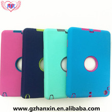 alibaba stock New creative Full Body Coverage 360 degree Protective smart cover for ipad 2 3 4 silicone back cover phone cover