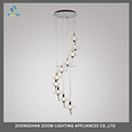 Contemporary design clear crystal ceiling hanging lights for indoor decorative