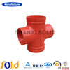 UL Approved Ductile Iron Fitting Threaded Equal Cross