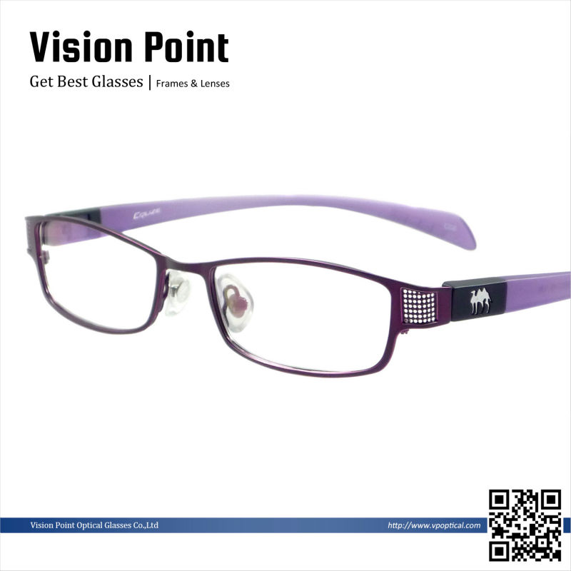 Women Fancy Eyeglasses Frames With Changeable Temples ...