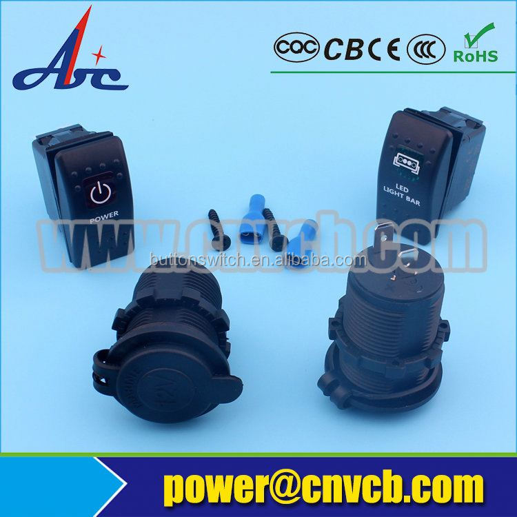 China car /bus accessory Car USB Charger ,power socket charger socket for auto car