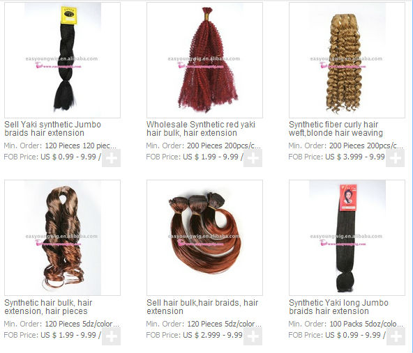 Hair extension synthetic braiding hair Hot selling soft dread lock synthetic braiding hair