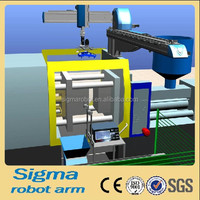 sigma industrial cnc robotic arms for injection machine