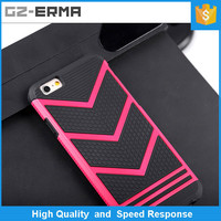 hot selling colorful PC phone cases Matte Back Cover Cases for iphone 6 plus