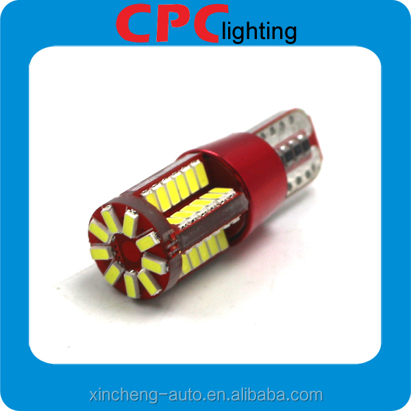 Super Bright T10 led 4014 57smd Canbus no polarity led car reading light