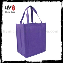 Hot selling ptinted eco-friendly pp nonwoven bags for supermarket