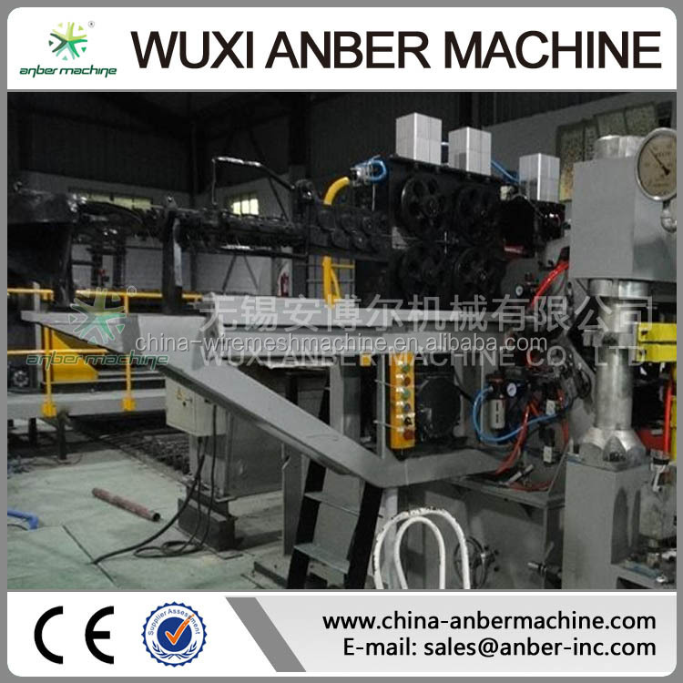 Full automatic steel wire mesh welding machine