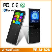 Multifunction 1.8 inch tft touch screen mp4 player support pedometer