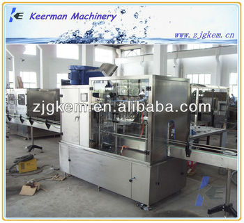 Plastic bottle straight line filling machine
