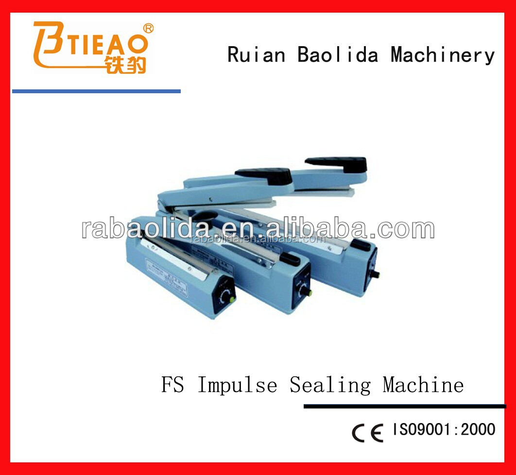 FS Series hand press sealer