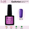 2017 Hot Sale GelArtist Uv Gel Wholesale Professional Soak Off Uv Nail Gel Polish