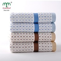 2015 New Design Super Soft Dots Jacquard Terry Towel 100% Cotton Fabric Made in China