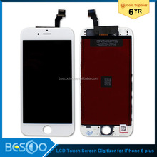 "hot sale!!! High quality mobile phone lcd for iphone 6 plus, for iphone 6 plus 5.5"" lcd touch screen digitizer"