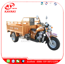 Three Wheels Motorcycle Gas Tricycle/Cargo Motor Cycle/Van Cargo Tricycle