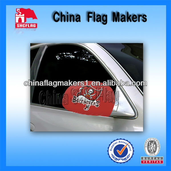 Dulex Design Car Side Mirror Flag For Outdoor Promotional