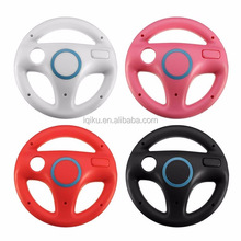 4 Colors Hot Product Racing Game Steering Wheel For Wii Remote Controller Accessories