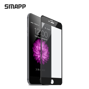 3D 0.3mm 9H For iPhone 6 6s Tempered Glass Screen Protector