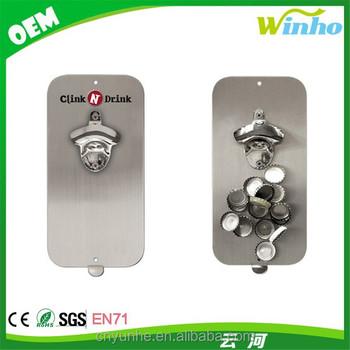 Winho Bottle Opener With Magnetic Cap Catcher Buy Bottle