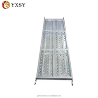 Construction galvanized scaffolding catwalk for sale with high quality and low price