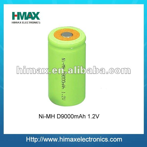 nimh rechargeable battery size d 1.2v 8000mah