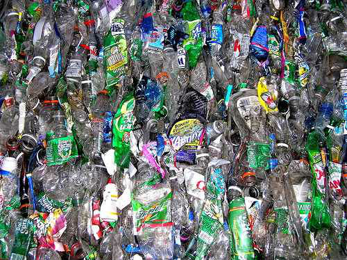Plastic Scrap Recycle PET Bottles