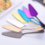 factory wholesale stainless steel cake cutter server golden rose golden rainbow colors