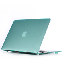 rubberized crystal case for macbook pro case 15