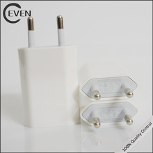 1000mA USB Wall Charger Plug phone charger,usb Designed for Apple Devices