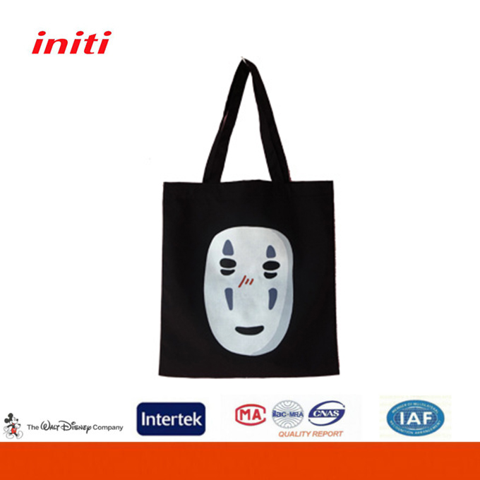 Promotional Printed Cotton Canvas Tote Custom Bags