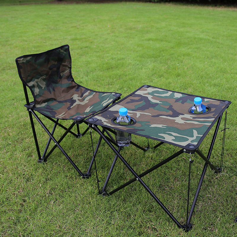 Colorful Portable Picnic Folding Tables And Chairs