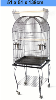Top Big Parrot Finch Cage Metal Wire Bird Cage