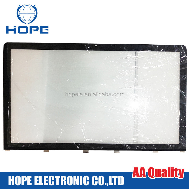 Original 27'' Front LCD Screen Monitor Glass For Apple Imac A1312 Glass 2009 2010
