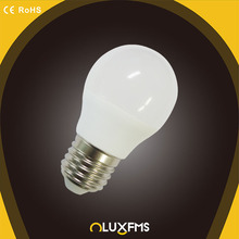 Factory low price mini led g45 e27 led bulb 4W E27 IC driver cool white with CE RohS