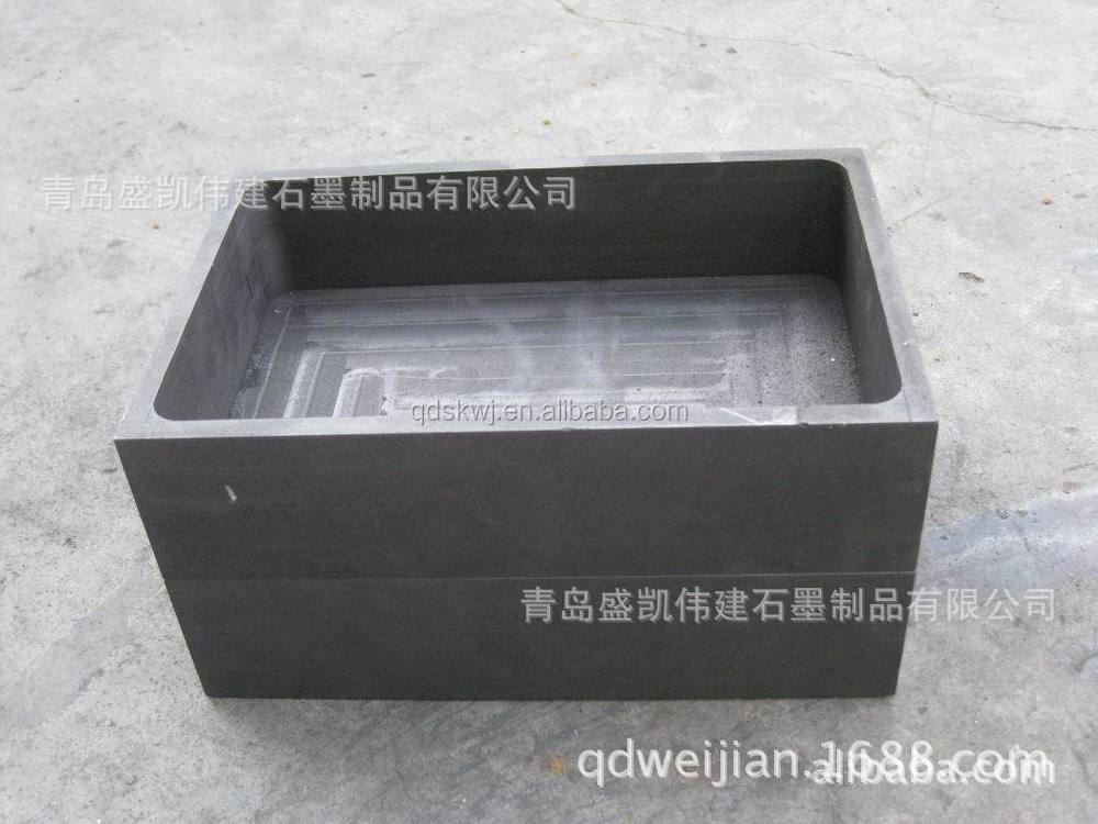 Graphite plate for baking