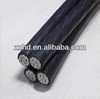 aluminum aerial cable low voltage abc cable insulated service cable