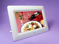 battery operated Narrow frame 7 inch digital photo frame