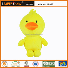 New design small yellow duck pillow/100% plush animal toys for kids