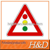 warning sign board traffic warning sign outdoor sign board material