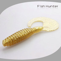 80mm 5.5g soft plastic fishing lures wholesale