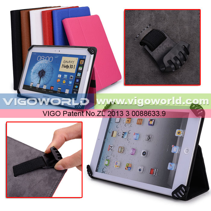 Universal Book Style Cover Case with Built-in Stand [Accord Series] for Apple iPad Mini 7.9 inch Tablet