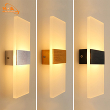 sales promotion 8W LED wall light simplicity acrylic wall light for home