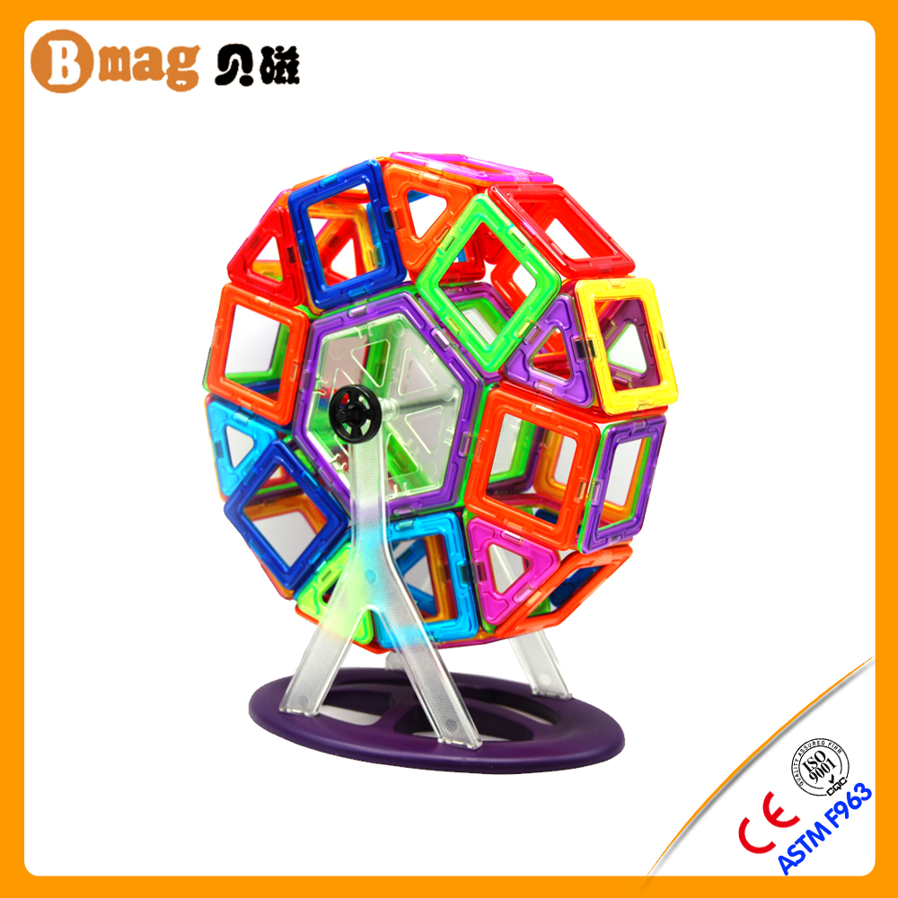 ISO certification creative magnetic toy building set