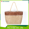 Wholesale 100%polyester eco-friendly burlap women tote bag